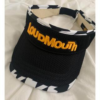 ラウドマウス(Loudmouth)のLOUDMOUUTH ラウドマウス サンバイザー(サンバイザー)