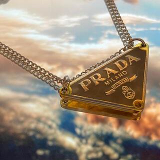 プラダ(PRADA)のプラダ ネックレス(ブラウン)(ネックレス)