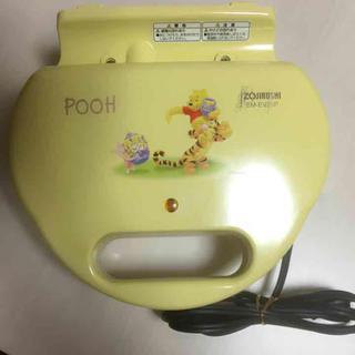 ディズニー(Disney)のpoohさんワッフルメーカー☆(調理機器)
