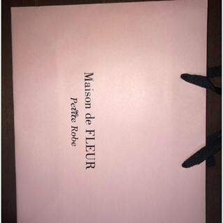 メゾンドフルール(Maison de FLEUR)の小ショッパー×1(ショップ袋)