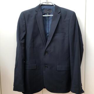 エイチアンドエム(H&M)のH&M セットアップ ネイビー スーツ ジャケット 48 M(セットアップ)