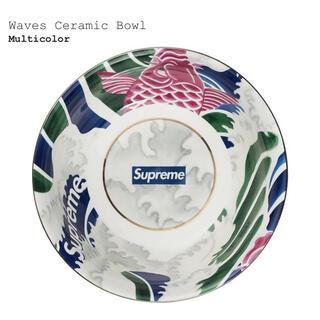 シュプリーム(Supreme)の新品 supreme waves ceramic bowl ボウル 丼 鉢(食器)