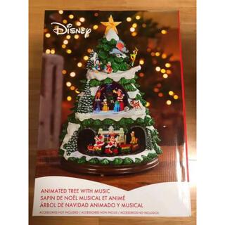 ディズニー(Disney)の【新品】ディズニー クリスマスツリー  クリスマスソング オルゴール  コストコ(インテリア雑貨)