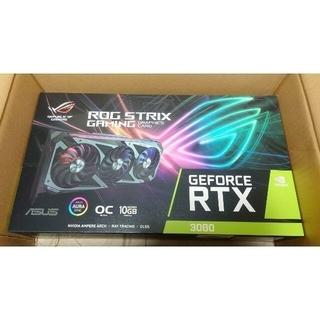 エイスース(ASUS)のASUS ROG-STRIX-RTX3080-10G-GAMING 新品未開封(PCパーツ)