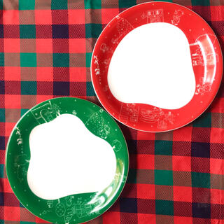 ファミリア(familiar)の【非売品レア】ファミリア クリスマスプレート(食器)