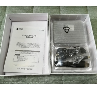 新品 未使用 400-prj023 モバイルプロジェクター(プロジェクター)