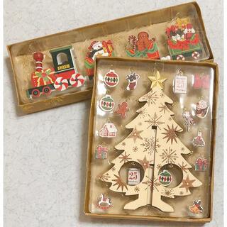 スリーコインズ(3COINS)の3COINS CHRISTMAS クリスマス ツリー&トレイン セット(インテリア雑貨)