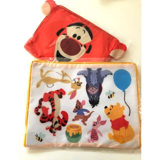 クマノプーサン(くまのプーさん)のディズニー「トラベル衣類収納バッグ」 (旅行用品)
