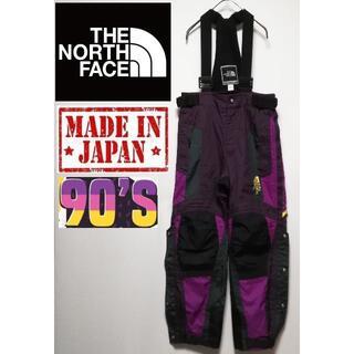 ザノースフェイス(THE NORTH FACE)の555 90年代 THE NORTH FACE 日本製 サロペット(サロペット/オーバーオール)
