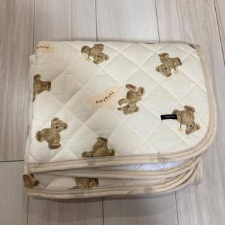 フタフタ(futafuta)のざわちん様専用 futafuta くま 敷きパッド  新品未使用  70×120(敷パッド)