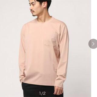 アダムエロぺ(Adam et Rope')の【ADAM ET ROPE'】 40Gポンチ ワイドポケットロンT(Tシャツ/カットソー(七分/長袖))