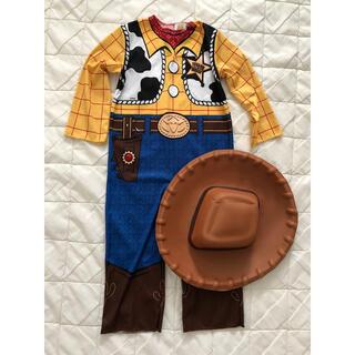 ディズニー(Disney)のDisney トイストーリー☆キッズ ウッディ コスプレ(衣装一式)