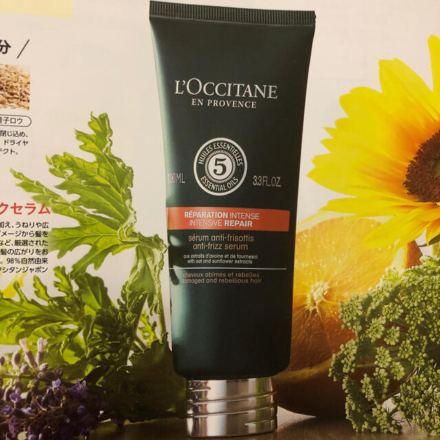 L'OCCITANE(ロクシタン)のロクシタン ファイブハーブス ヘアミルクセラム コスメ/美容のヘアケア/スタイリング(ヘアケア)の商品写真