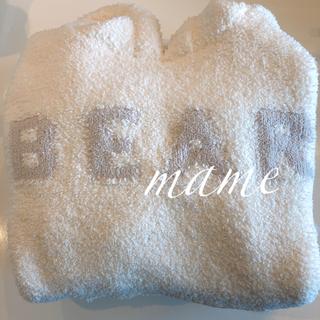 ジェラートピケ(gelato pique)の新品♡'スフレ'パーカードレスBEAR♡オフホワイト♡ジェラートピケ(ルームウェア)