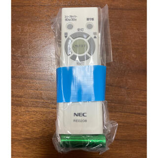 エヌイーシー(NEC)のNEC シーリングライトRE0208用リモコン(その他)