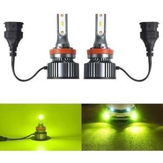 LEDフォグランプ H8 H11 H16 フォグランプ レモンイエロー イエロー(天井照明)