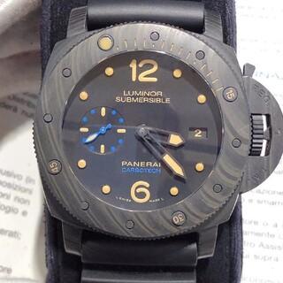 アイ(i)のルミノール サブマーシブル カーボテック腕時計(腕時計(アナログ))