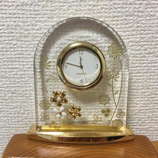 MIKIMOTO - ミキモト パール置き時計