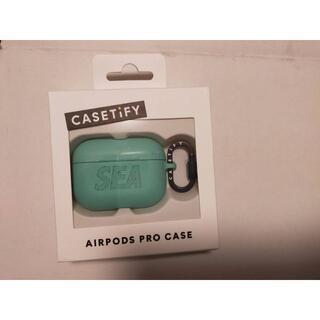 アップル(Apple)のwind and sea air pods proケース casetify(ヘッドフォン/イヤフォン)