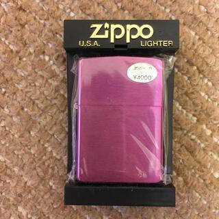 ジッポー(ZIPPO)のzippo パープル 2003年製 (タバコグッズ)