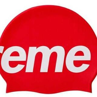 シュプリーム(Supreme)のSupreme 20ss Speedo Swimming Cap red(マリン/スイミング)