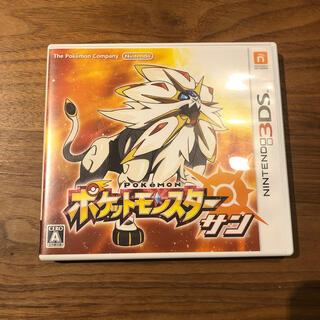 ニンテンドー3DS(ニンテンドー3DS)の【値下げ】ポケットモンスター サン 3DS(携帯用ゲームソフト)