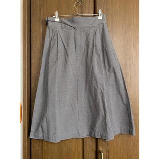 ユニクロ(UNIQLO)のユニクロ★イネス ミディスカート M(ひざ丈スカート)