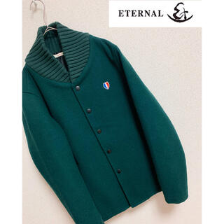 エターナルジーンズ(ETERNAL)の【ETERNAL】エターナル ウールコート ジャケット 備中倉敷工房 ロゴ刺繍(その他)