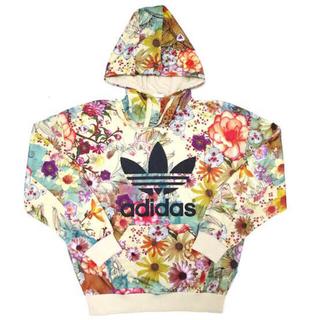 アディダス(adidas)のadidas original花柄パーカー(パーカー)