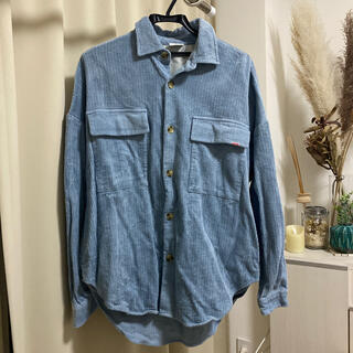 フリークスストア(FREAK'S STORE)のフリークスストア BIGMAC 美品コーデュロイシャツ(ミリタリージャケット)