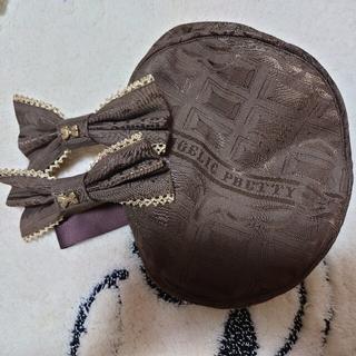 アンジェリックプリティー(Angelic Pretty)のMelty Ribbon Chocolat ベレー帽リボンバレッタセット(ヘアアクセサリー)