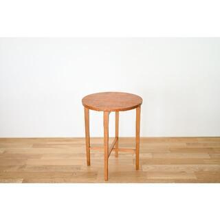 北欧ビンテージ 折り畳みサイドテーブル # チーク ビーチ(折たたみテーブル)