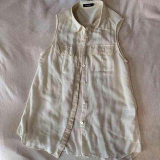 ルシェルブルー(LE CIEL BLEU)のルシェルブルー ノースリーブシャツ(シャツ/ブラウス(半袖/袖なし))