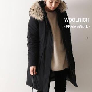 フレームワーク(FRAMeWORK)の【WOOLRICH】 WS YORK PARKA モッズロング ※新品タグ付き※(ダウンコート)
