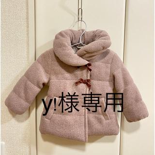 アカチャンホンポ(アカチャンホンポ)の未使用 ベビー 中綿コート アウター 女の子 80(ジャケット/コート)