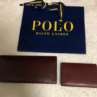 ポロラルフローレン(POLO RALPH LAUREN)の新品ラルフローレン  長財布 名刺入 セット (長財布)