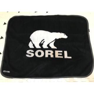 ソレル(SOREL)の新品・未開封 SOREL ソレル 膝掛け フリース ブランケット アウトドア(ノベルティグッズ)