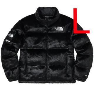 シュプリーム(Supreme)のSupreme ノースフェイス Faux Fur Nuptse Jacket L(ダウンジャケット)