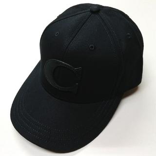 コーチ(COACH)の【COACH★F75703】コーチ キャップ 帽子 ブラック 新品(キャップ)