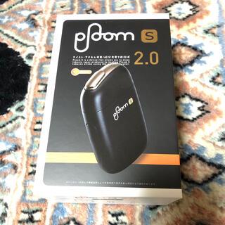プルームテック(PloomTECH)のploom S プルームエス 2.0 本体 スターターキット ブラック(タバコグッズ)