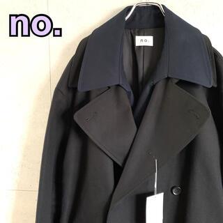 サカイ(sacai)のno. ナンバー 20AW レイヤードコート ドッキングコート 新品 せー様専用(トレンチコート)