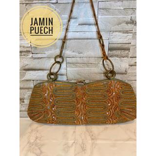ジャマンピュエッシュ(JAMIN PUECH)の【JAMIM PUECH】ハンドバッグ 刺繍 スパンコール レディース(ハンドバッグ)