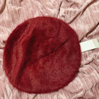 セシルマクビー(CECIL McBEE)の【新品】CECILMcBEE ベレー帽(ハンチング/ベレー帽)