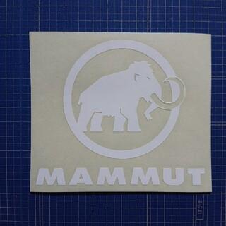 マムート(Mammut)のカッティングシート加工(その他)