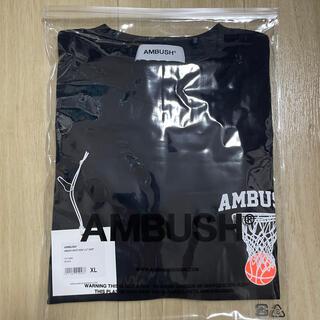 アンブッシュ(AMBUSH)の【XL】未開封 AMBUSH バスケットグラフィック ロングTシャツ(Tシャツ/カットソー(七分/長袖))