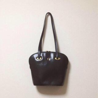 グリモワール(Grimoire)の最終値下 vintage shoulder leather bag black(ショルダーバッグ)