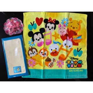 ディズニー(Disney)のディズニー タオル 入浴剤 セット(タオル/バス用品)