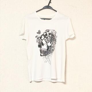エンペラート(EMPERART)のEMPERART エンペラート Tシャツ スカル ホワイト白(Tシャツ/カットソー(半袖/袖なし))