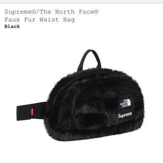 シュプリーム(Supreme)の新品 Supreme®/The North Face® Waist Bag 黒(ウエストポーチ)