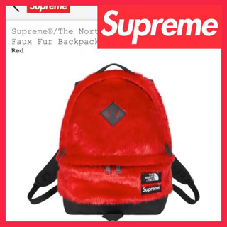 シュプリーム(Supreme)のSupreme The North Face Faux Fur Backpack(リュック/バックパック)